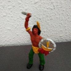 Figuras de Goma y PVC: FIGURA INDIO TIPO JECSAN. Lote 210683544