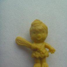 Figuras de Goma y PVC: FIGURA DE DUNKIN , COLECCION DE LOS PICAPIEDRAS DE HANNA BARBERA : BAM-BAM. Lote 210696566