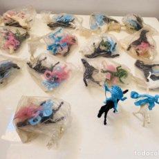Figuras de Goma y PVC: JECSAN LOTE 56 FIGURAS INDIOS & VAQUEROS. Lote 210748006