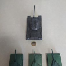 Figuras de Goma y PVC: TANQUES DE PLÁSTICO ESTILO A MONTAPLEX. Lote 210796604