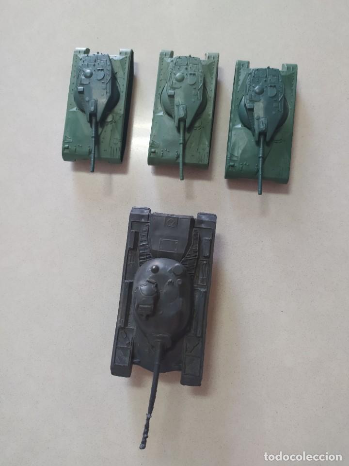 Figuras de Goma y PVC: Tanques de plástico estilo a montaplex - Foto 5 - 210796604