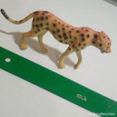 Figuras de Goma y PVC: FIGURA GUEPARDO GOMA DURA MUÑECO ANIMAL SELVA SALVAJE. Lote 210799487