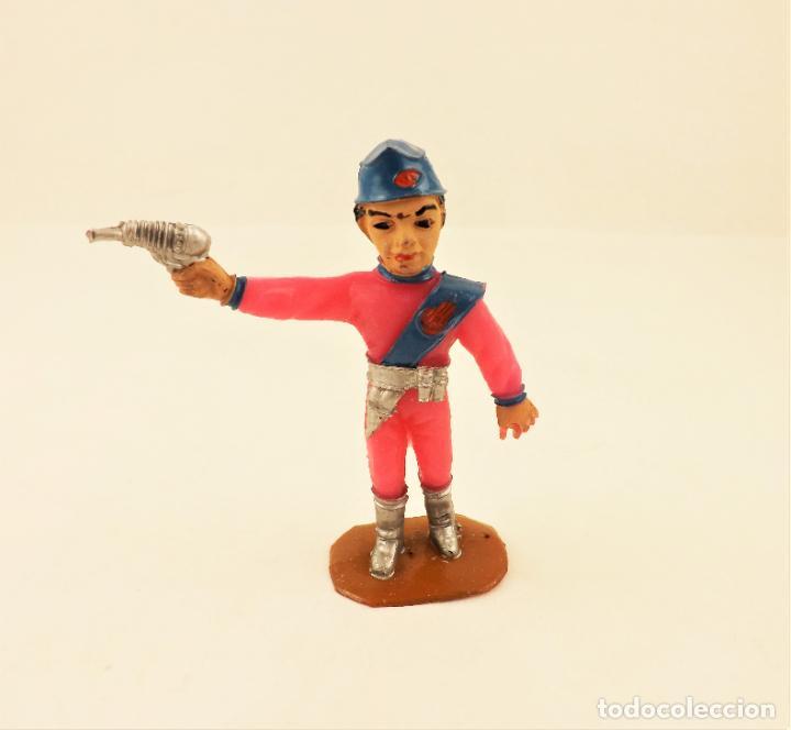 Figuras de Goma y PVC: Comansi The Thunderbirds original. Scott - Foto 2 - 210954444