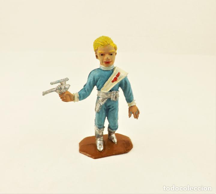 Figuras de Goma y PVC: Comansi The Thunderbirds original. Alan - Foto 2 - 210954829