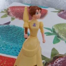 Figuras de Goma y PVC: FIGURA DE JANE PORTER DE LA PELÍCULA TARZÁN - NO FUNCIONA EL MECANISMO - 11 CM (PESO: 42 GRAMOS). Lote 210963890