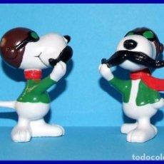 Figuras de Goma y PVC: SNOOPY AVIADOR FIGURA EN PVC SCHLEICH. Lote 211398691
