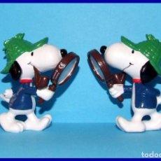 Figuras de Goma y PVC: SNOOPY DETECTIVE FIGURA EN PVC SCHLEICH. Lote 211398889