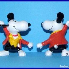 Figuras de Goma y PVC: SNOOPY DISCOTECA FIGURA EN PVC SCHLEICH. Lote 211398931