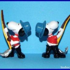 Figuras de Goma y PVC: SNOOPY PESCADOR FIGURA EN PVC SCHLEICH. Lote 211399055