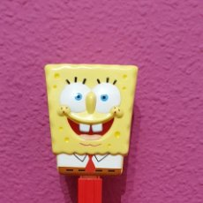 Dispensador Pez: DISPENSADOR PEZ XXL BOB ESPONJA. Lote 211410785