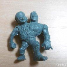 Figuras de Goma y PVC: FIGURA TOXIC CRUSADERS EL VENGADOR TOXICO. HEADBANGER. EL HOMBRE QUIMICO. MUY RARA. VERDE GRIS.. Lote 211419357