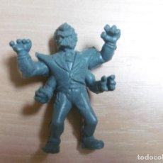 Figuras de Goma y PVC: FIGURA TOXIC CRUSADERS EL VENGADOR TOXICO. DR KILLEMOFF. EL HOMBRE QUIMICO. 5CM DE ALTO. MUY RARA.. Lote 211420031