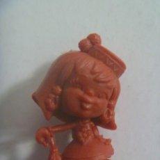 Figuras de Goma y PVC: FIGURA DE DUNKIN , COLECCION DE NIÑOS PORTUGUESES CABEZONES : PAULINA PROVETA. Lote 211421061