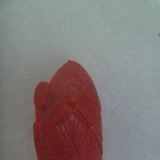 Figuras de Goma y PVC: FIGURA DE DUNKIN , COLECCION DE PIEZAS DE AJEDREZ : ALFIL ROJO. Lote 211462110
