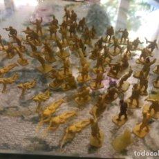 Figuras de Goma y PVC: LOTE DE 70 SOLDADOS JAPONESES MONTAPLEX. Lote 211463030