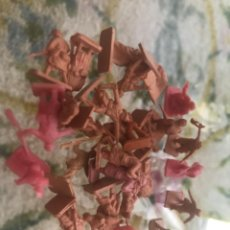 Figuras de Goma y PVC: LOTE 27 SOLDADOS FRANCESES MONTAPLEX PRIMERA Y SEGUNDA GUERRA MUNDIAL. Lote 211465011