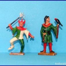 Figuras de Goma y PVC: LOTE 2 FIGURAS STARKUX EDAD MEDIA. Lote 211475941