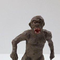 Figuras de Goma y PVC: ORANGUTAN - GORILA . REALIZADO POR JECSAN . SERIE FIERAS - HISTORIA NATURAL . AÑOS 50 EN GOMA. Lote 211476547
