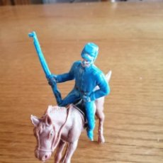 Figuras de Goma y PVC: FEDERAL A CABALLO DE JECSAN. Lote 211479860