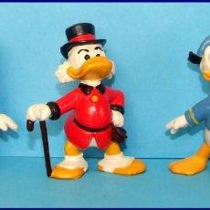 Figuras de Goma y PVC: CLASICOS DISNEY LOTE 3 FOGURAS BULLY TIO GILITO DONALD Y DAISY. Lote 211481437