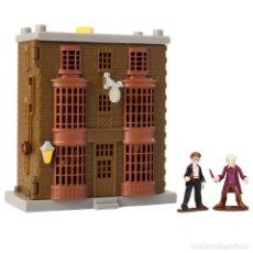 Figuras de Goma y PVC: HARRY POTTER QUIDDITCH PITCH, MINI PLAYSET DE LA TIENDA DE VARITAS DE OLLIVANDER, 11X13CMS. Lote 211506117