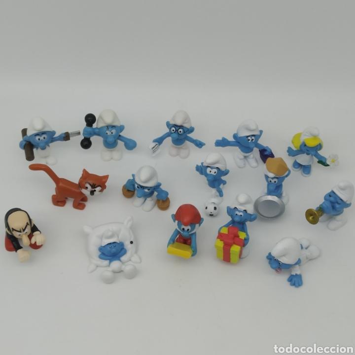 Figuras Kinder: Colección completa los PITUFOS Kinder Sorpresa - Ferrero año 2008 - Foto 2 - 211559836