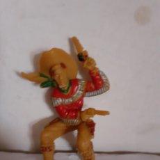Figuras de Goma y PVC: FIGURA VAQUERO POSIBLE LAFREDO 7 CMTOS. Lote 211565280