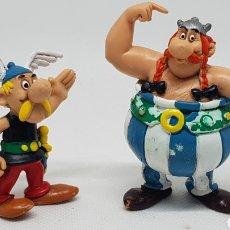 Figuras de Goma y PVC: FIGURAS ASTERIX Y OBELIX COMIC SPAIN 1990 UDERZO GOSCINNY. Lote 211567520