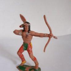 Figuras de Goma y PVC: FIGURA INDIO POSIBLEMENTE LAFREDO PLASTICO. Lote 211585207