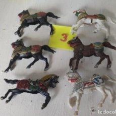 Figuras de Goma y PVC: LOTE CABALLOS. REAMSA. Lote 211620972