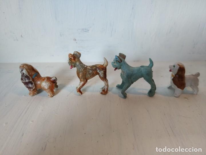 Figuras de Goma y PVC: Lote de perros disney. Pech - Foto 2 - 211650435