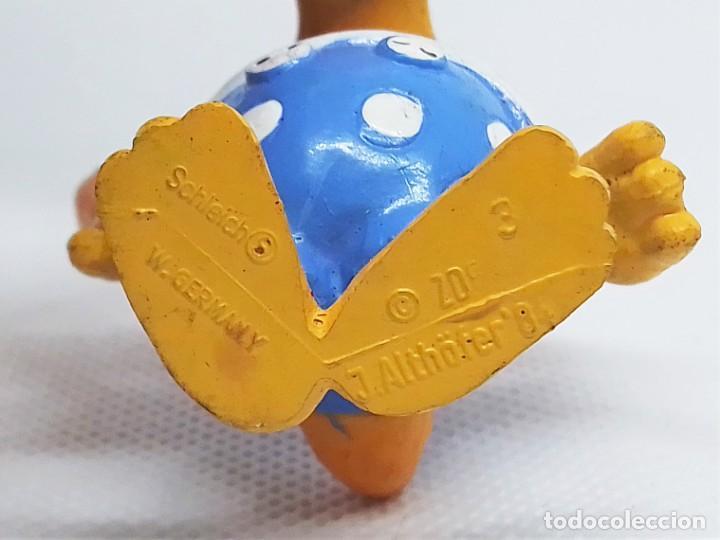 Figuras de Goma y PVC: Figuras de Knudell, Knax and Knibbel del programa de TV alemán Die Drollinge realizadas por Schleich - Foto 6 - 211652068