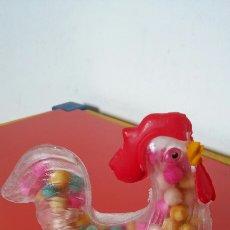 Figuras de Goma y PVC: GALLO ANISES (10 CM).PLÁSTICOS TUROLENSES 60S.SIN ABRIR.. Lote 211685710