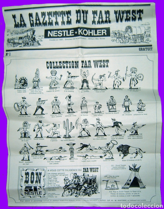 Figuras de Goma y PVC: Starlux Nestle Exin West - Foto 5 - 211718954