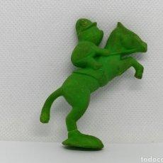 Figuras de Goma y PVC: MATUGOMA COBI EQUITACIÓN. Lote 211729913