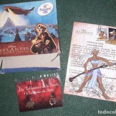 Figuras de Goma y PVC: CAJA COLECCIONABLE AQUAREL DE NESTLE. DISNEY ATLANTIS. COMPLETA. PRINCESA KIDA. Lote 211774090