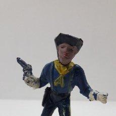 Figuras de Goma y PVC: SOLDADO FEDERAL . REALIZADO POR JECSAN . SERIE DESCABEZADOS . ORIGINAL AÑOS 50 EN GOMA. Lote 211798298