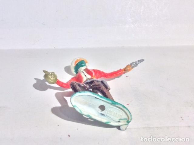 Figuras de Goma y PVC: COMANSI, FIGURA DE BANDIDO CON MASCARA, ANTIGUA Y BUEN ESTADO - FLA - Foto 2 - 211829645
