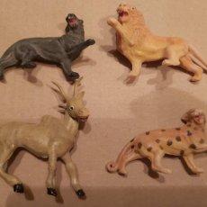 Figuras de Borracha e PVC: LOTE DE ANIMALES MORCILLON Y BABALI TEIXIDO. Lote 211837735