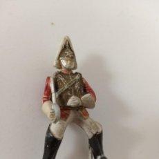Figuras de Goma y PVC: FIGURA SOLDADO GUARDIA DEL REY GOMA REAMSA. Lote 211882472