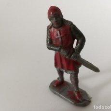 Figuras de Goma y PVC: FIGURA MEDIEVAL MOYÁ. Lote 211882536