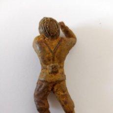 Figuras de Goma y PVC: SOLDADO EN ACCIÓN COLOM BASTE AÑOS 50. Lote 211887896
