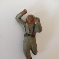 Figuras de Goma y PVC: FIGURA SOLDADO COLOM BASTE AÑOS 50. Lote 211887988
