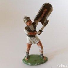Figuras de Goma y PVC: FIGURA LEGIONARIO ROMANO ROJAS Y MALARET. Lote 233462155