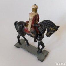 Figuras de Goma y PVC: RARA FIGURA GUARDIA MORA DE FRANCO AÑOS 50. Lote 211925657