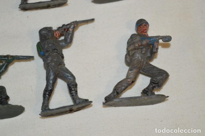 Figuras de Goma y PVC: 9 Soldados JECSAN / CASCOS AZULES / Sobre 5 / 6 Cm. altura ¡Mira fotos y detalles! - Foto 5 - 212018930