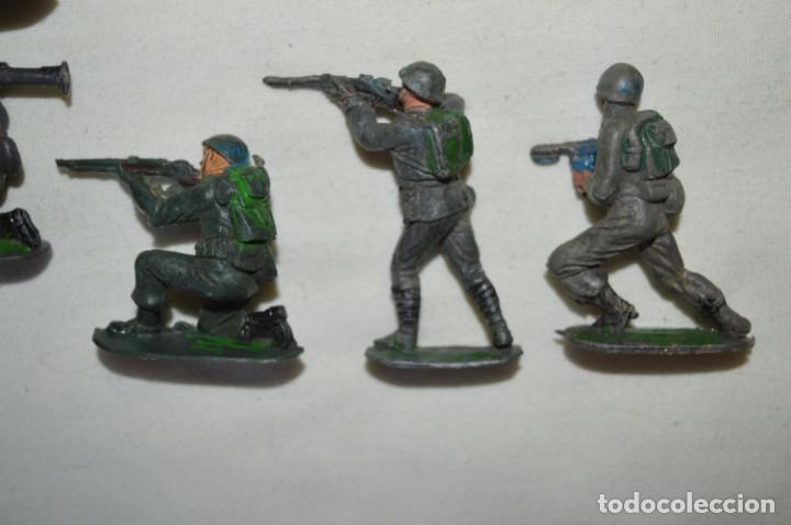 Figuras de Goma y PVC: 9 Soldados JECSAN / CASCOS AZULES / Sobre 5 / 6 Cm. altura ¡Mira fotos y detalles! - Foto 8 - 212018930