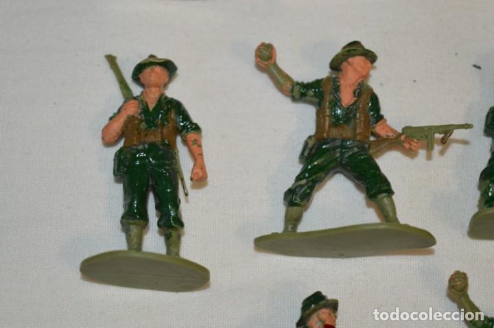 Figuras de Goma y PVC: 15 Soldados JAPONESES y OTROS / Sobre 4 / 5 Cm. altura ¡Mira fotos y detalles! - Foto 5 - 212020432