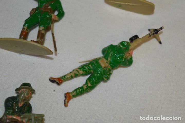 Figuras de Goma y PVC: 15 Soldados JAPONESES y OTROS / Sobre 4 / 5 Cm. altura ¡Mira fotos y detalles! - Foto 7 - 212020432
