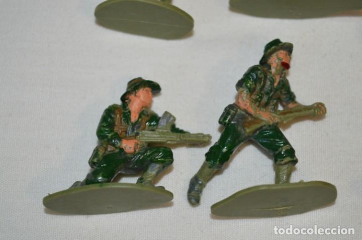 Figuras de Goma y PVC: 15 Soldados JAPONESES y OTROS / Sobre 4 / 5 Cm. altura ¡Mira fotos y detalles! - Foto 8 - 212020432